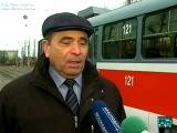 ремонт трамвая 121 в Краснодаре по технологии МосТРЗ